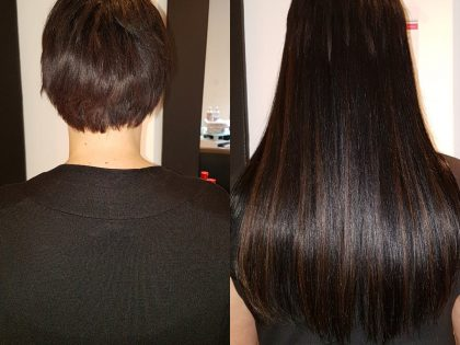 Hairextensions verlenging met 150 stuks