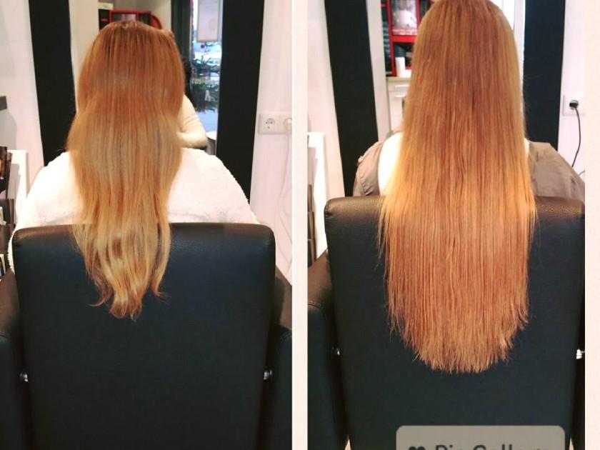 Hairextensions verlenging met 125 stuks