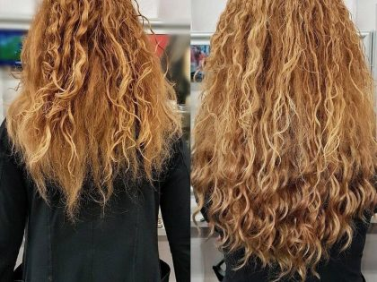 Curly hairextensions