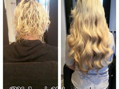 Hairextensions verlenging met 175 stuks