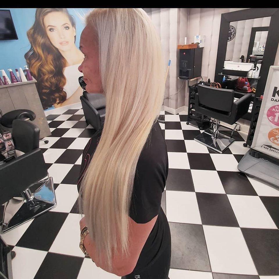 blonde stijle hairextensions stijl annas hairextensions assendelft zaanstad zaandam